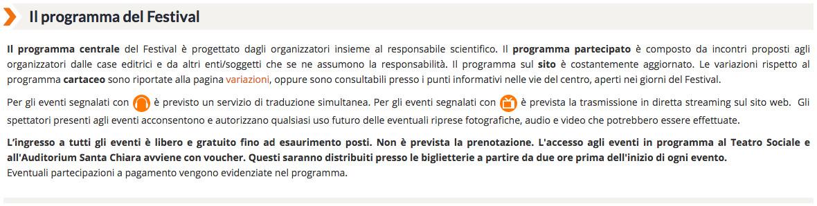 Festival Economia Trento 2016