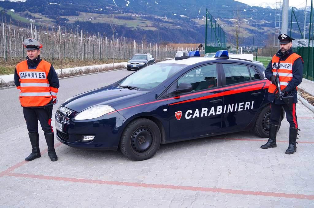 20170203 pattuglia dei carabinieri di bressanone