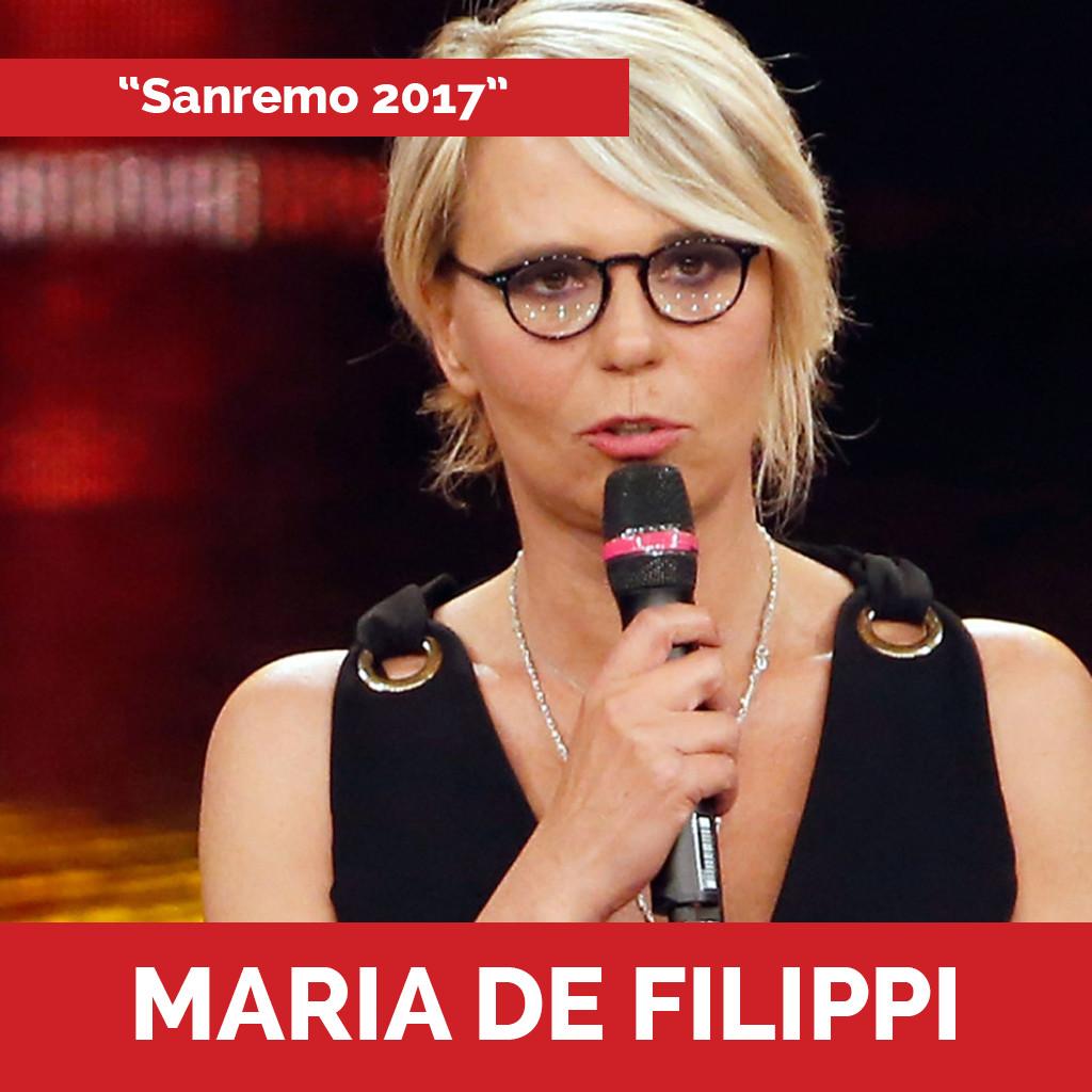 Maria De Filippi podcast sanremo 2017