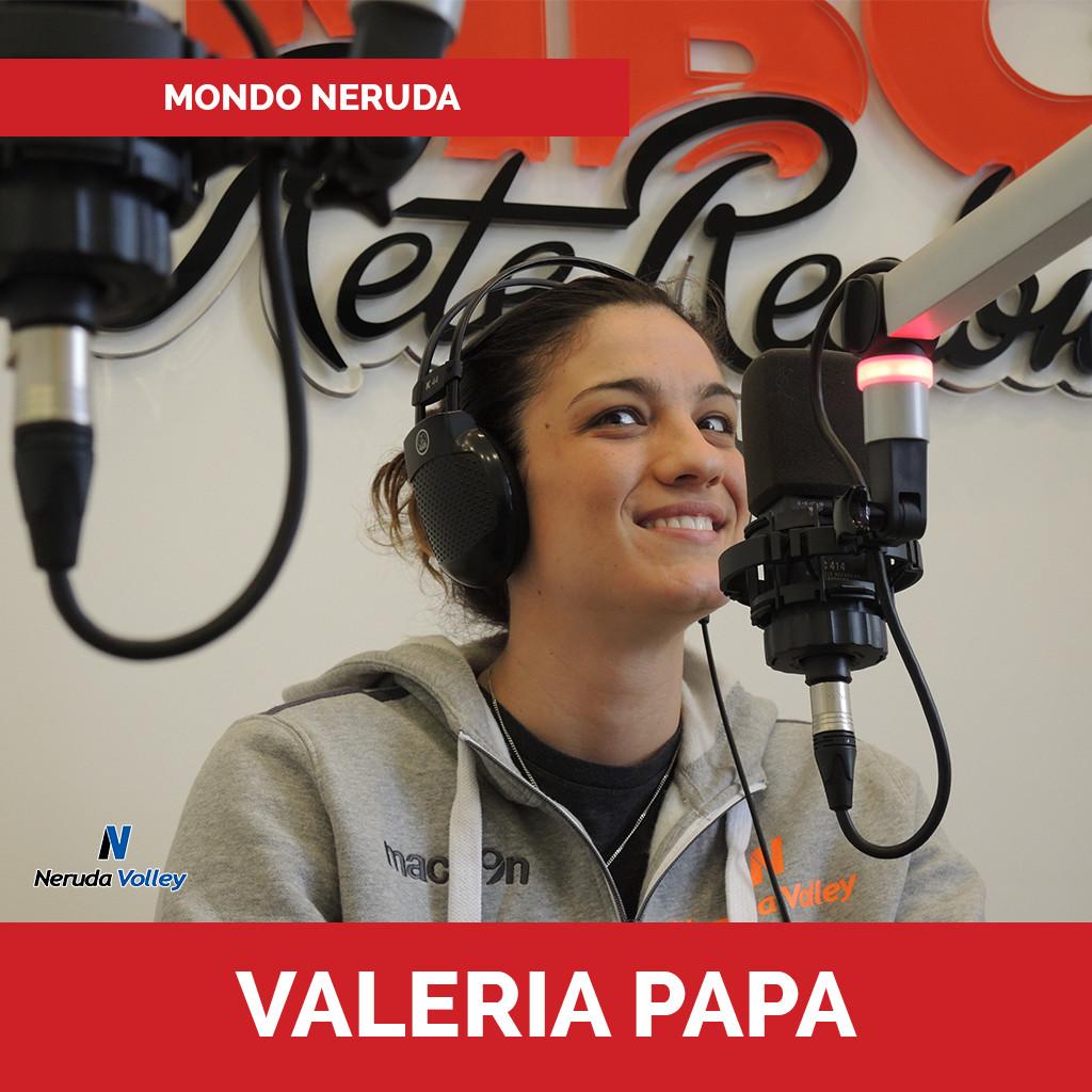 Valeria Papa Mondo Neruda podcast