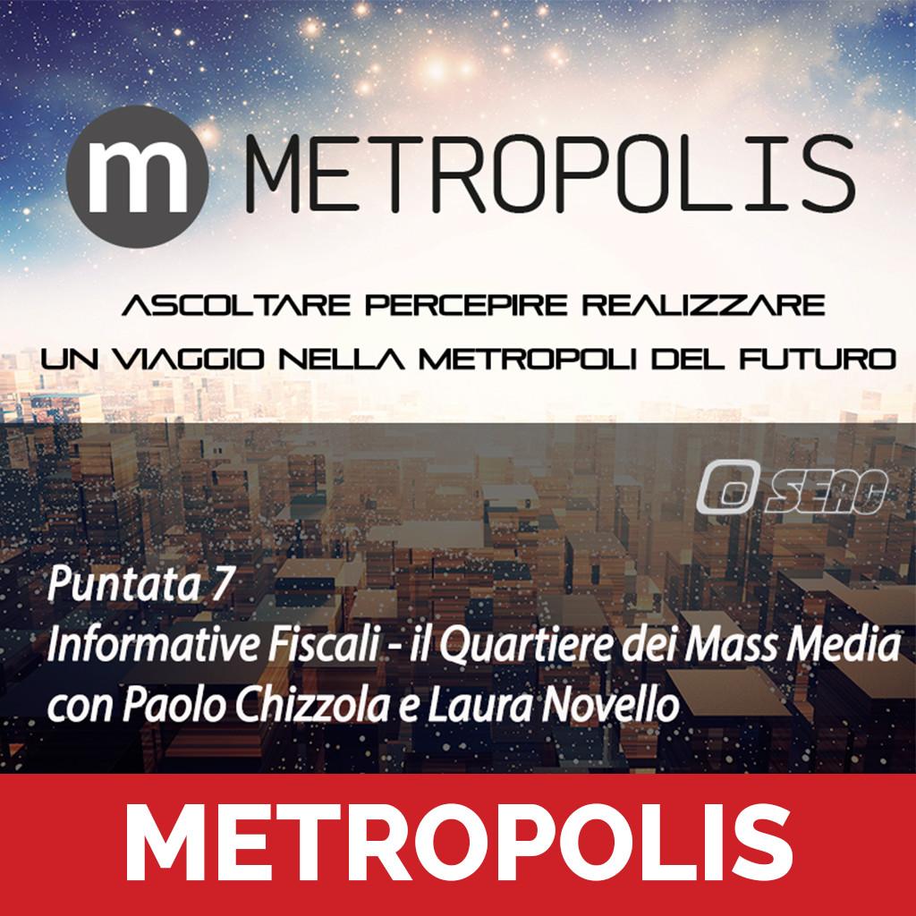 Metropolis 7 puntata podcast