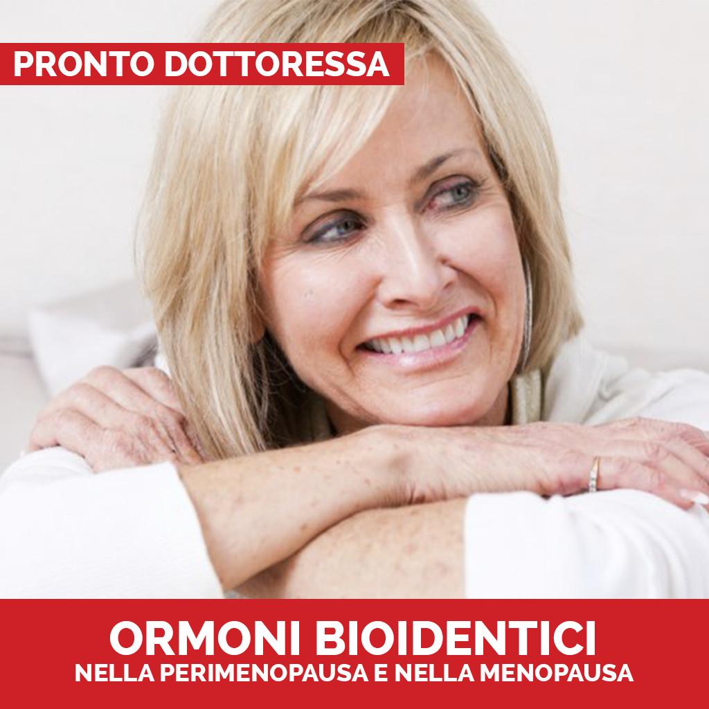 Ormoni bioidentici Pronto Dottoressa