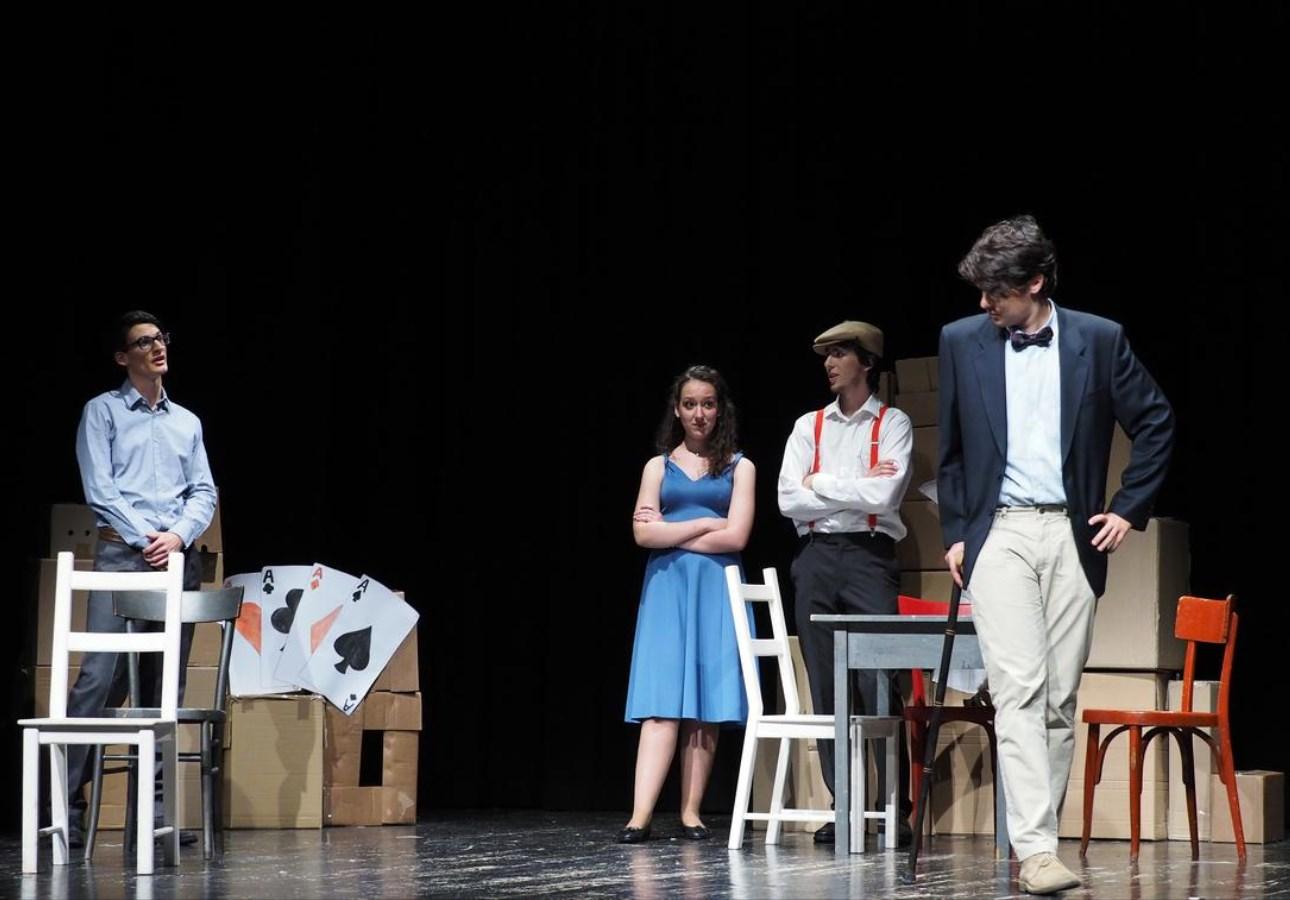 """20° Meeting """"La scuola a Teatro"""" 10 maggio 2016 Teatro S. Marco. Liceo Prati  """"La Bottega del Caffè"""" di C. Goldoni     ph.condini"""