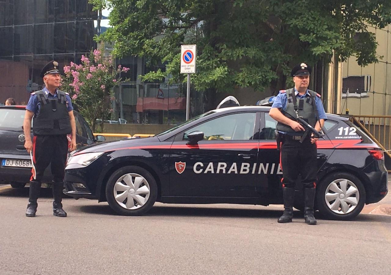 20170728 la pattuglia dei carabinieri di bolzano
