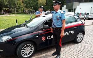 20170911 pattuglia dei carabinieri al parco della stazione di bolzano