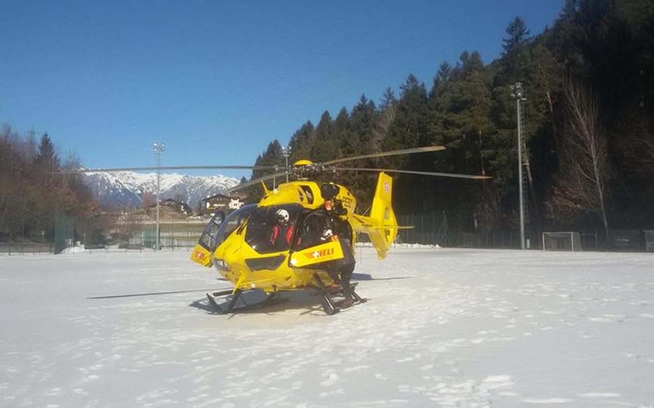 Pelikan 1 Elicottero : Slavina sopra rasun anterselva morto uno sci alpinista