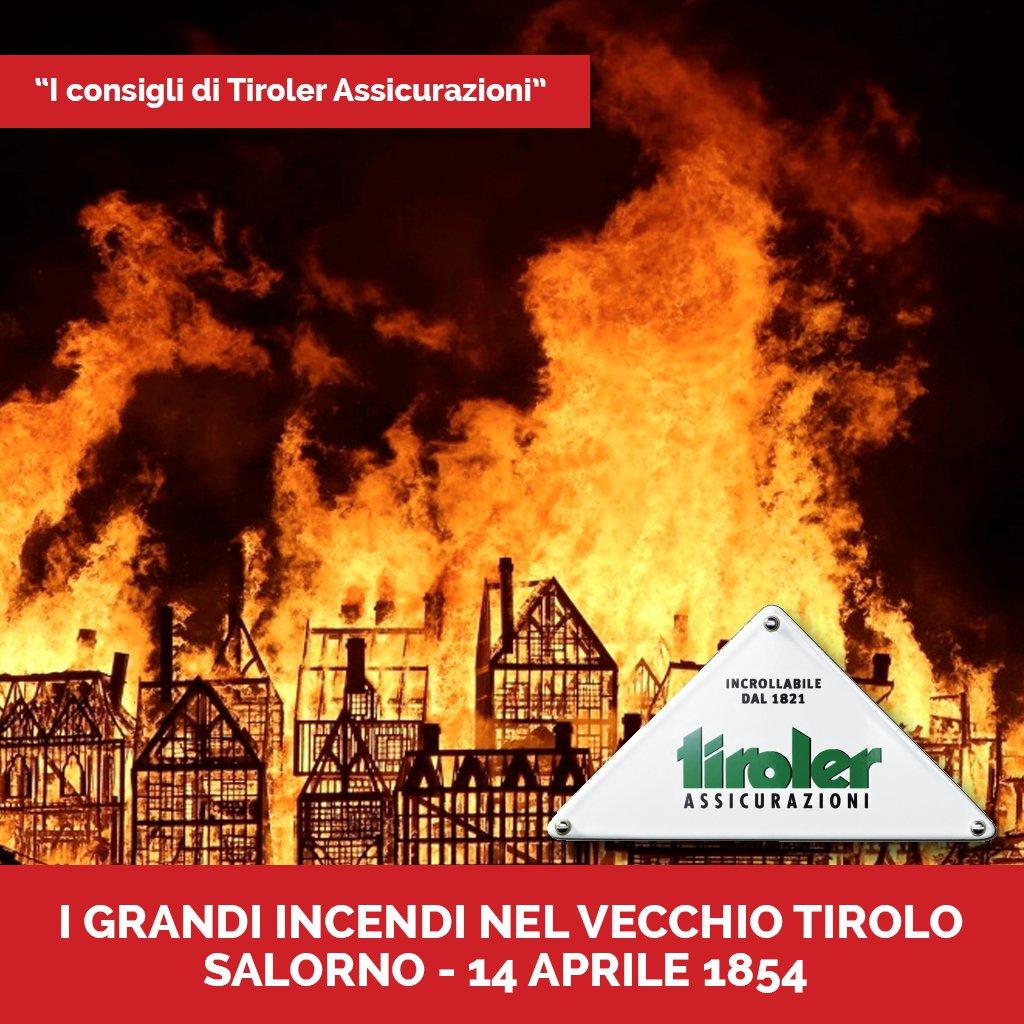 Tiroler - Incendi Salorno