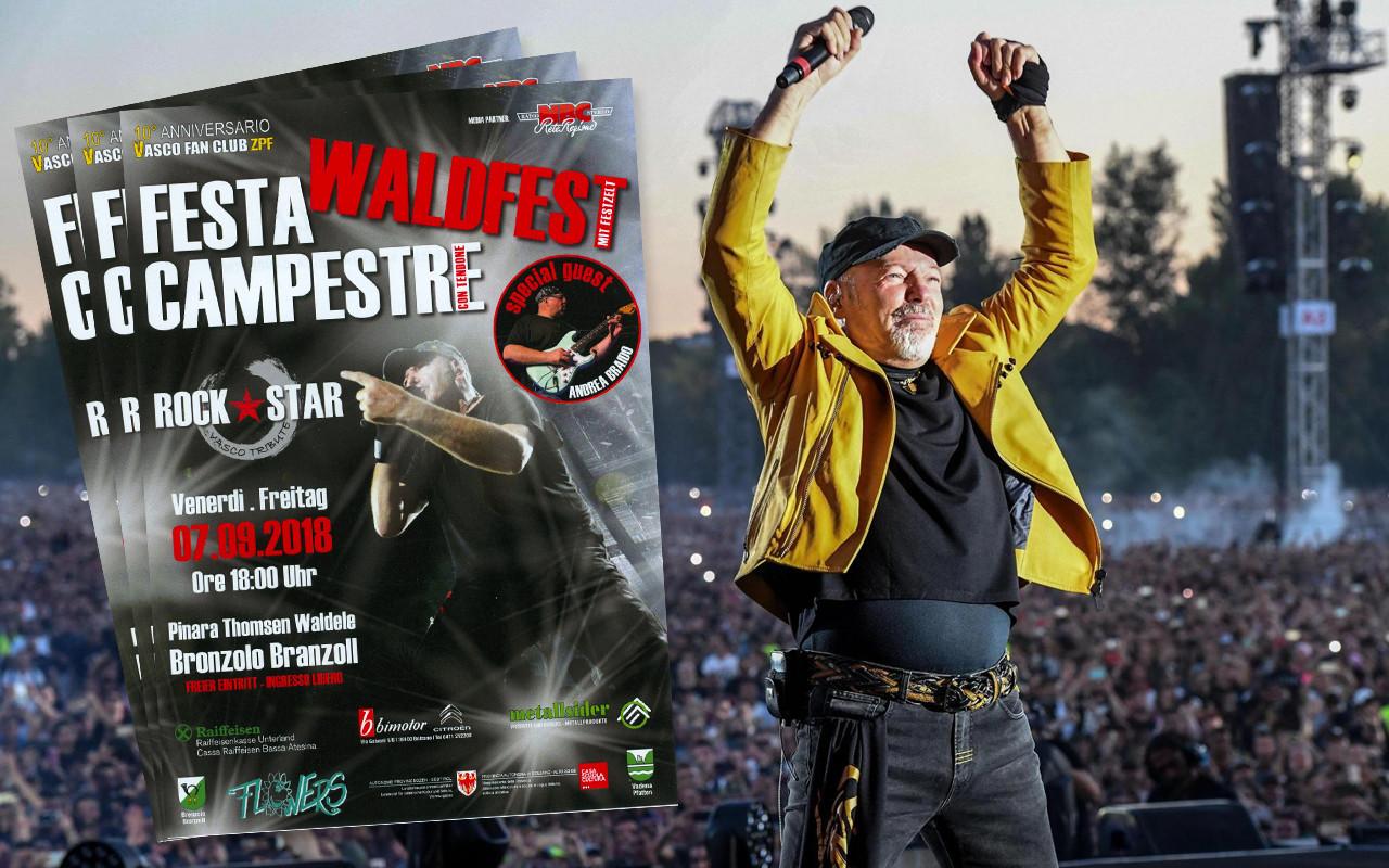 Copertina Waldfest - Festa Campestre Tributo a Vasco Rossi