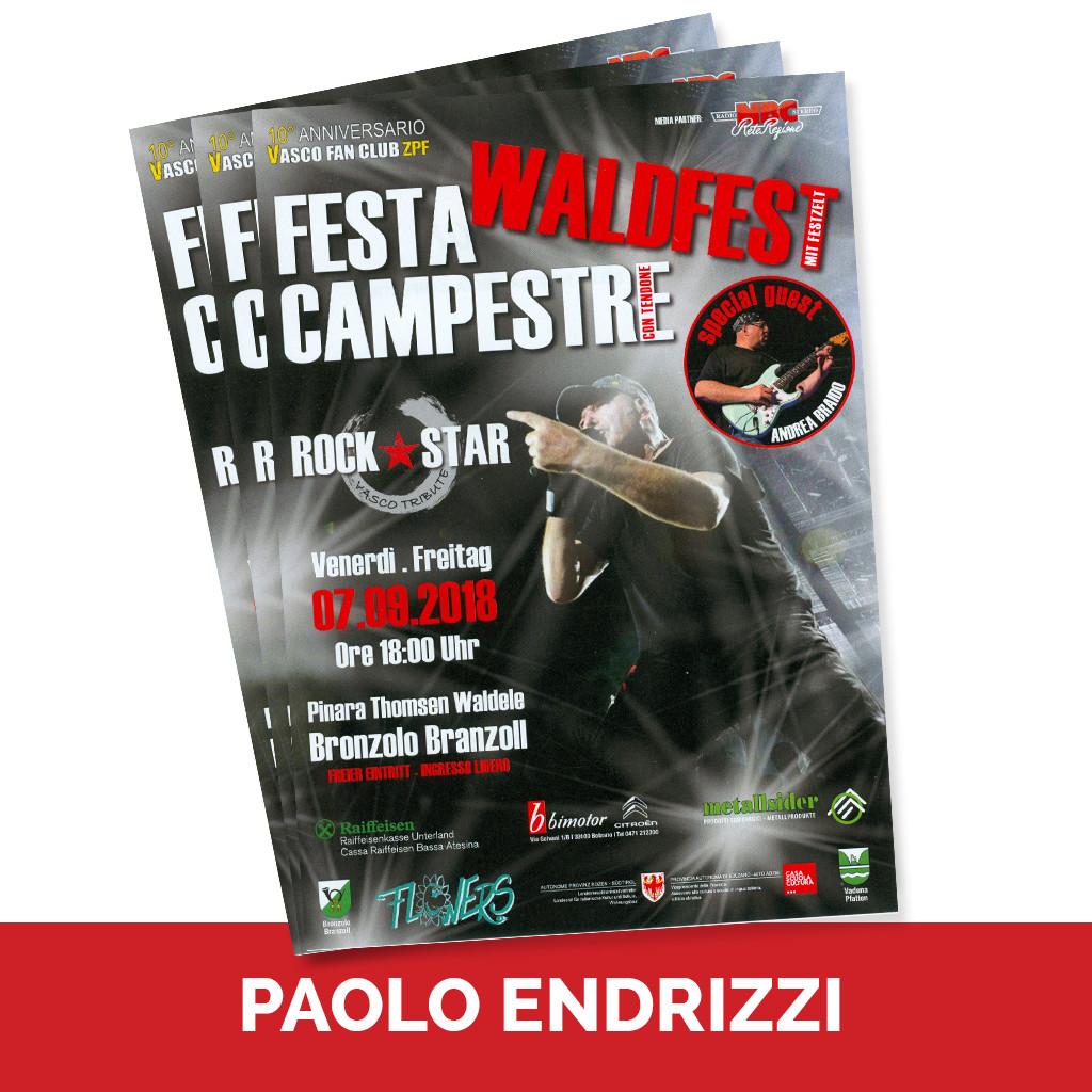 Podcast Ospiti Paolo Endrizzi Waldfesta - Festa Campestre
