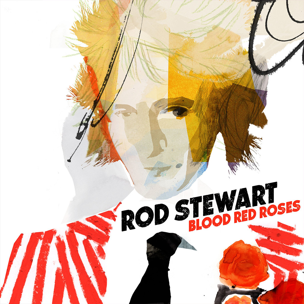 Rod Stewart - Blood Red Roses