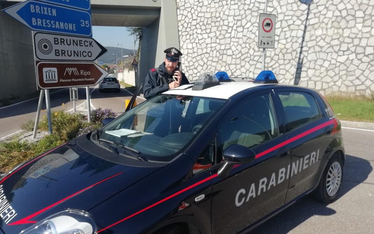 carabinieri di brunico