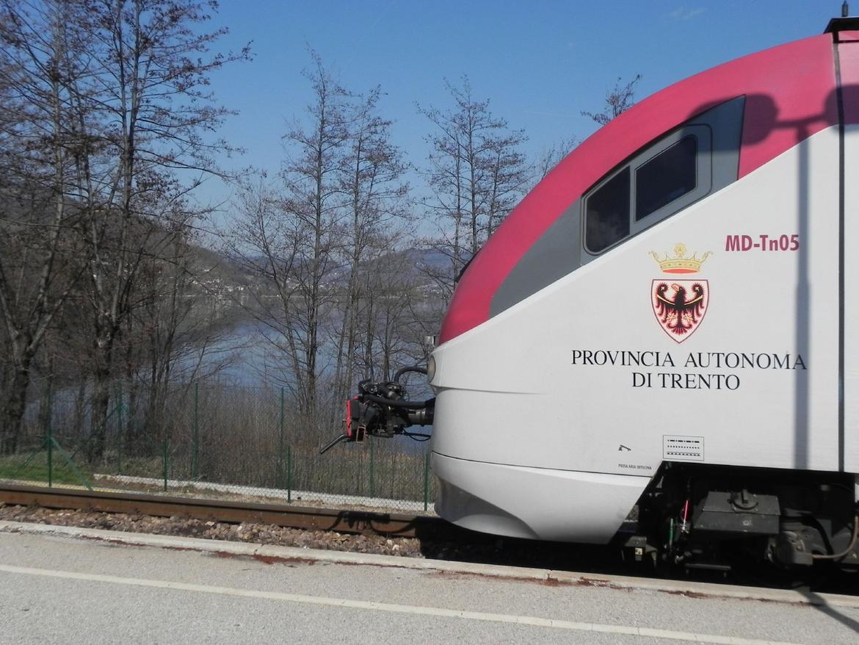 Treno Valsugana Minuetto Foto Archivio Servizio Trasporti Provincia autonoma di Trento