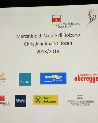 Conferenza Stampa Mercatino di Natale Bolzano – 1