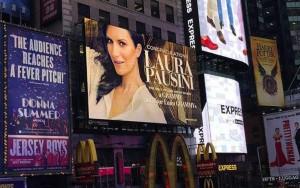 Pausini Times Square