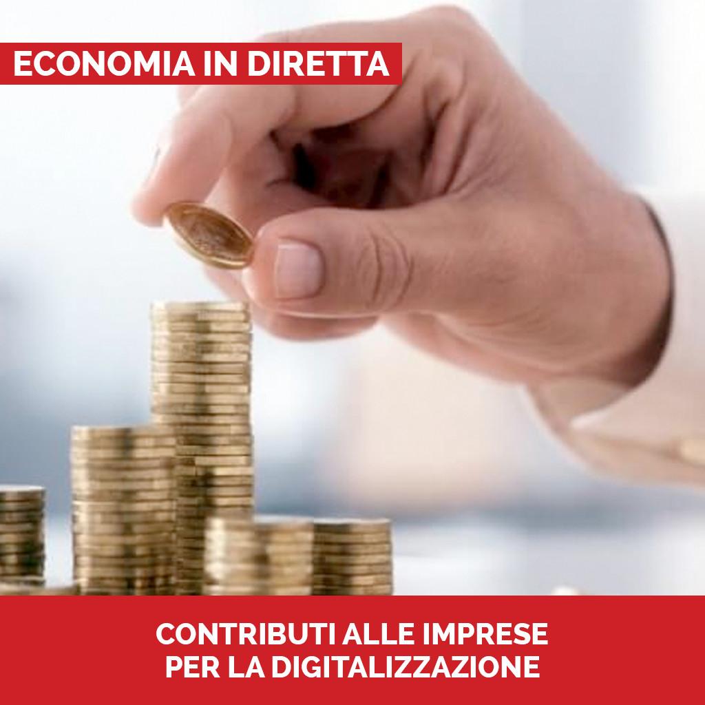 Podcast Economia in diretta Contributi alle imprese