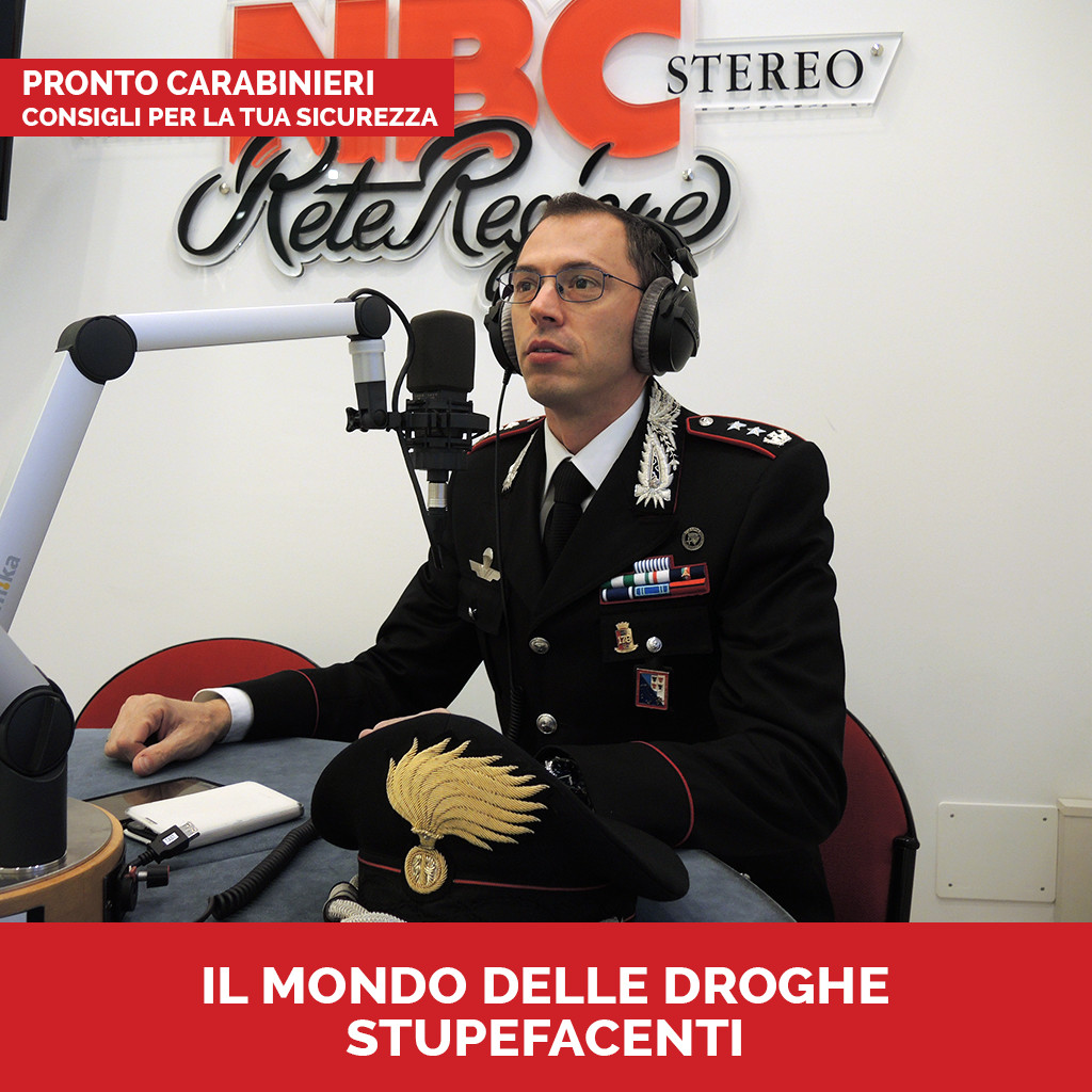 Podcast Pronto Carabinieri Droghe