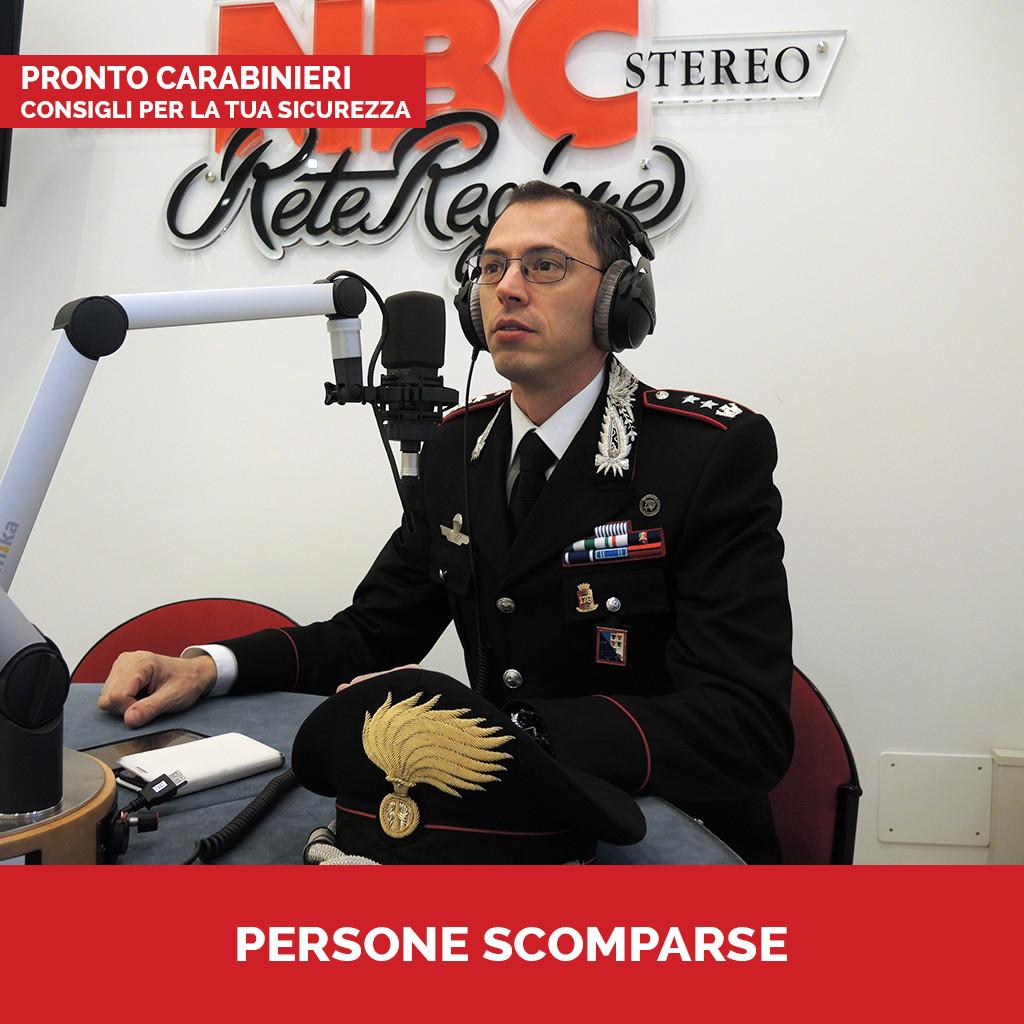 Podcast Pronto Carabinieri Persone Scomparse