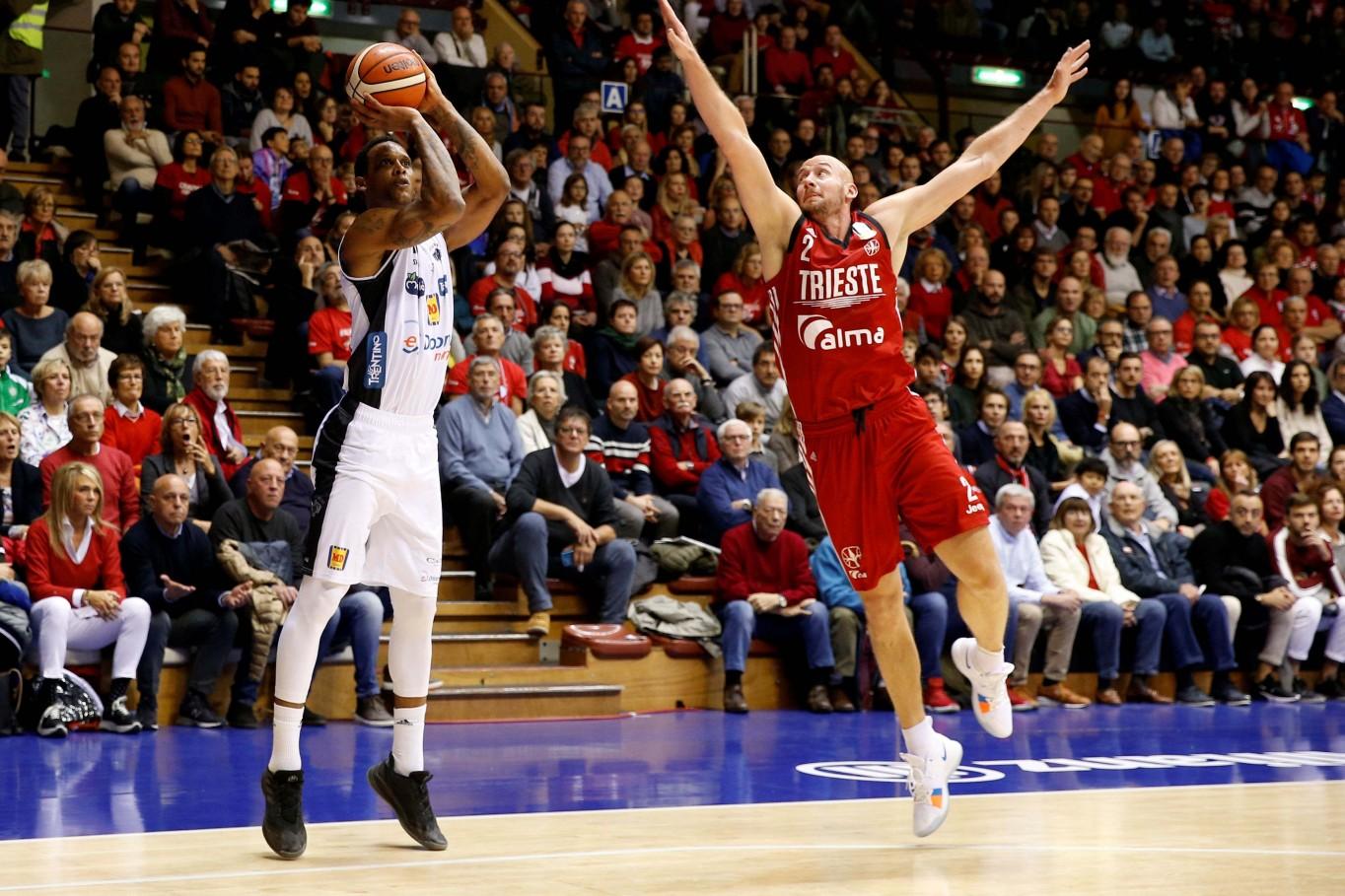 Gomes Joao Alma Trieste - Dolomiti Energia Trentino Lega Basket Serie A 2018/2019 Trieste, 17/11/2018 Foto A. Gilardi/Ag. Ciamillo Castoria