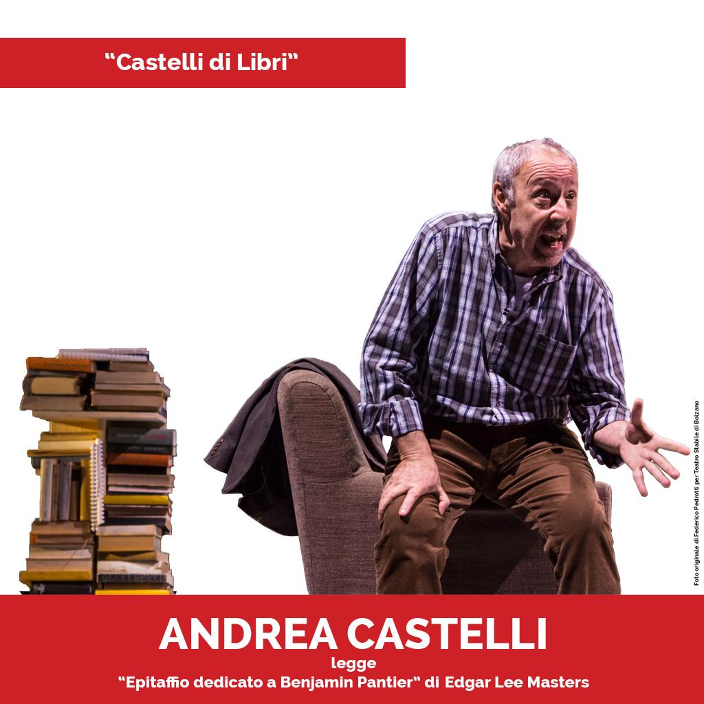Podcast Castelli di Libri Epitaffio dedicato a Benjamin Pantier