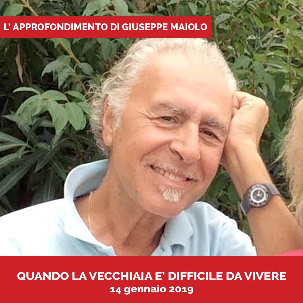Podcasta Approfondimento Giuseppe Maiolo Quando la vecchiaia è difficile da vivere