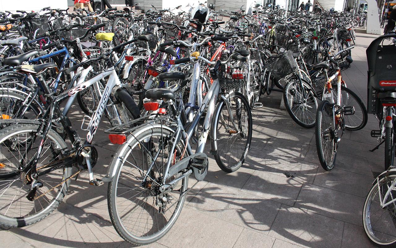 Bicicletta Biciclette Parcheggio