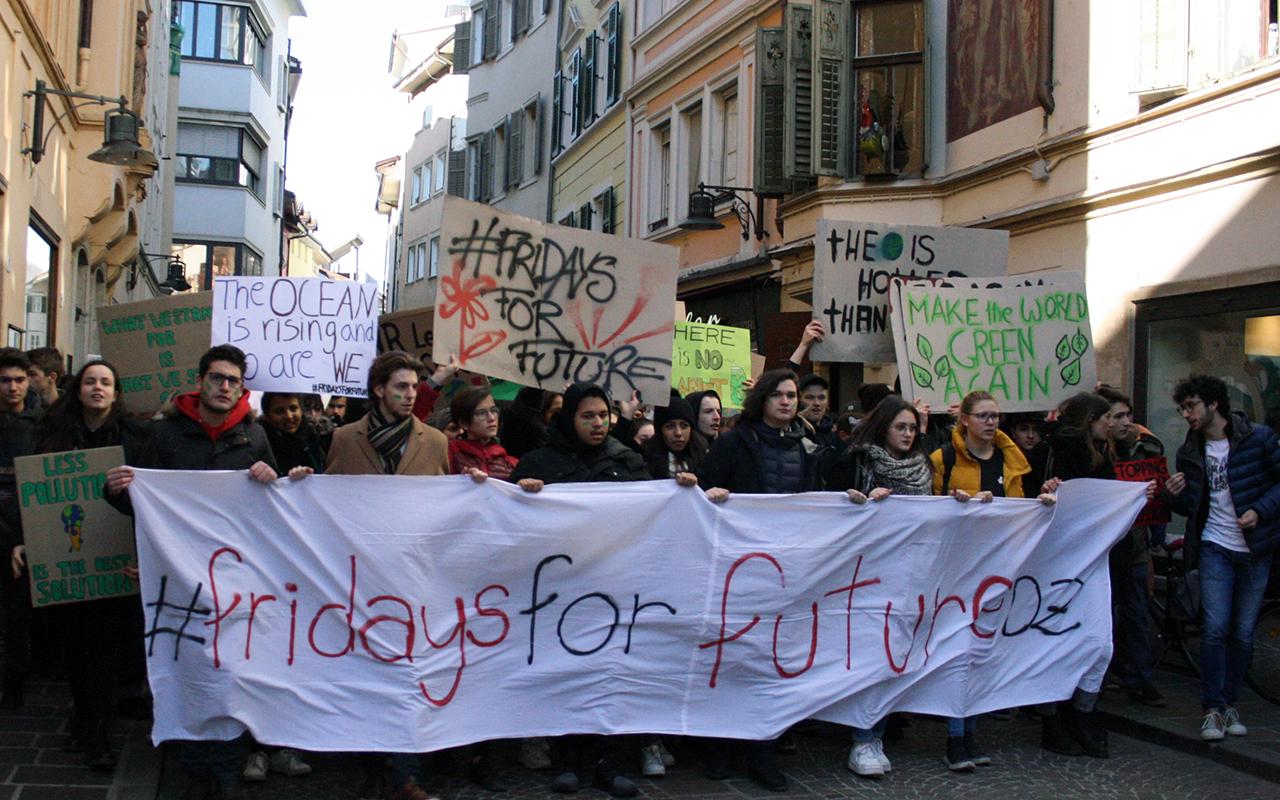 Manifestazione Studenti Clima 1