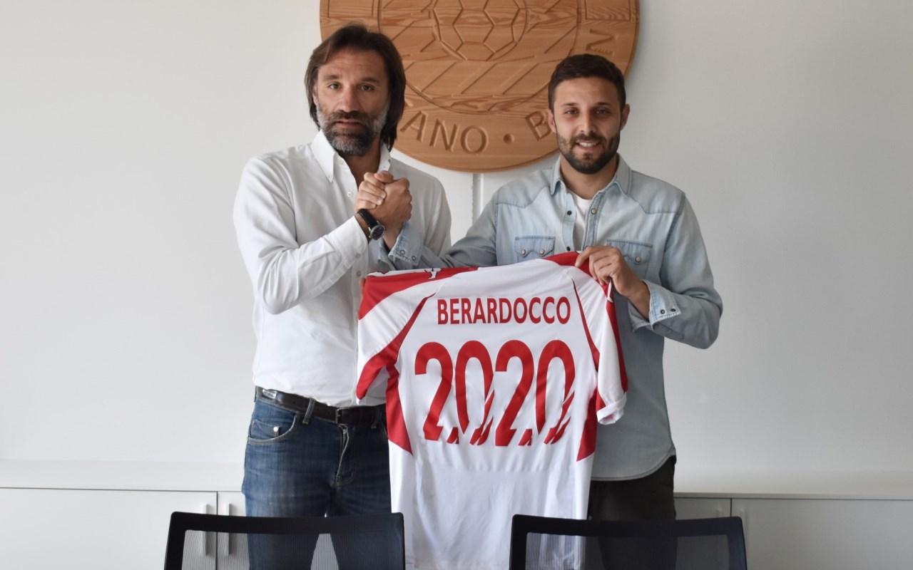 Il DS Paolo Bravo e Luca Berardocco