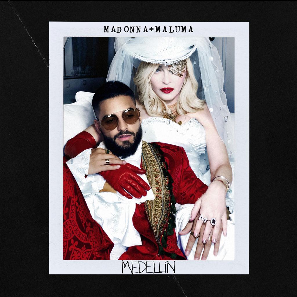 Madonna Maluma cover