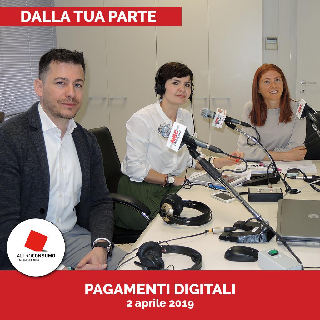 Podcast Dalla tua parte - PAGAMENTI DIGITALI