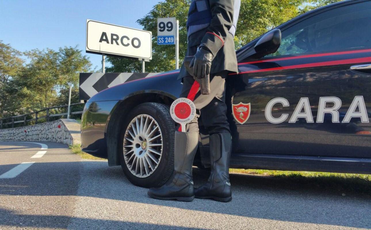 carabinieri arco