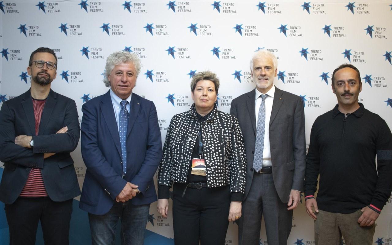 67° Trento Film Festival. Sergio Fant, Mauro Leveghi, Luana Bisesti, Fabrizio Lorenz e _
