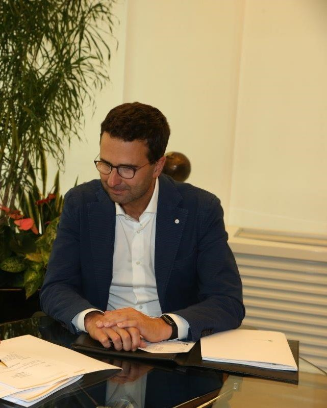 Diego Cattoni e Hartmann Reichhalter _AD e Presidente Autostrada del Brennero SpA