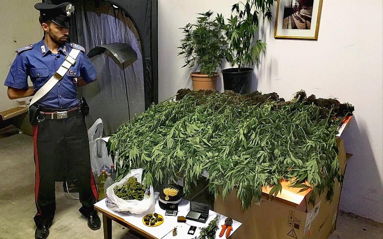 droga sequestrata a Moso il 09.07.2019