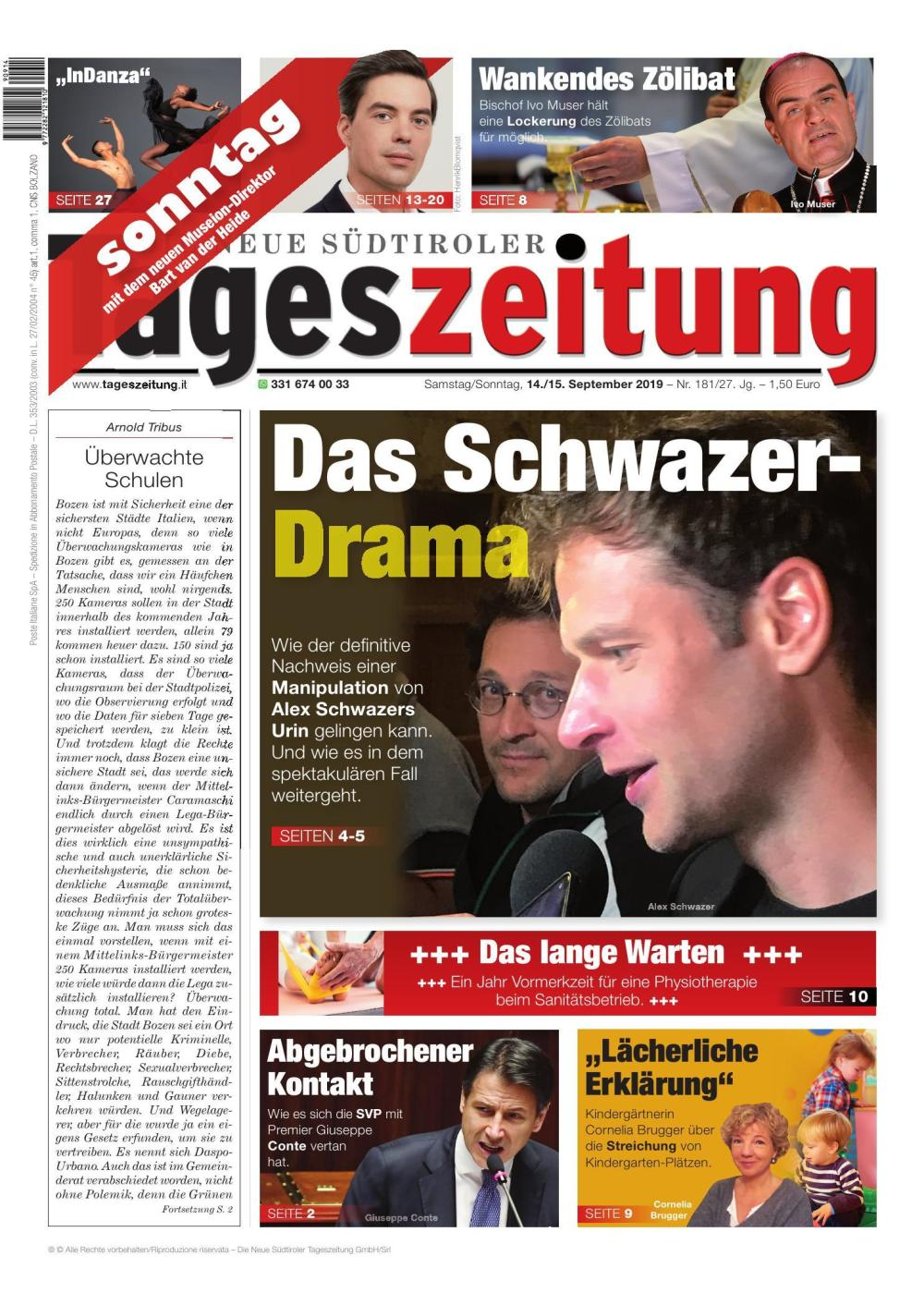 TAGES 14.09.2019