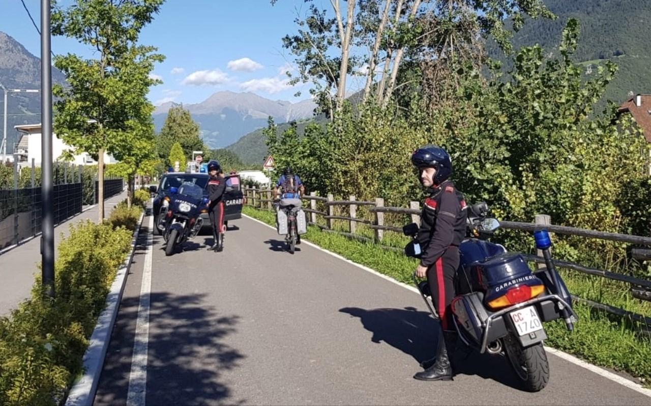 arresto con Moto a Naturno 12.09.2019