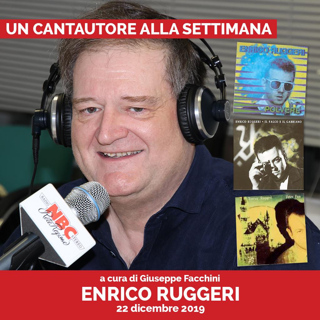 Enrico Ruggeri Podcast - Un Cantautore Alla Settimana