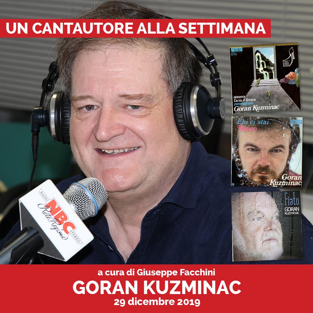Goran Kuzminac Podcast - Un Cantautore Alla Settimana