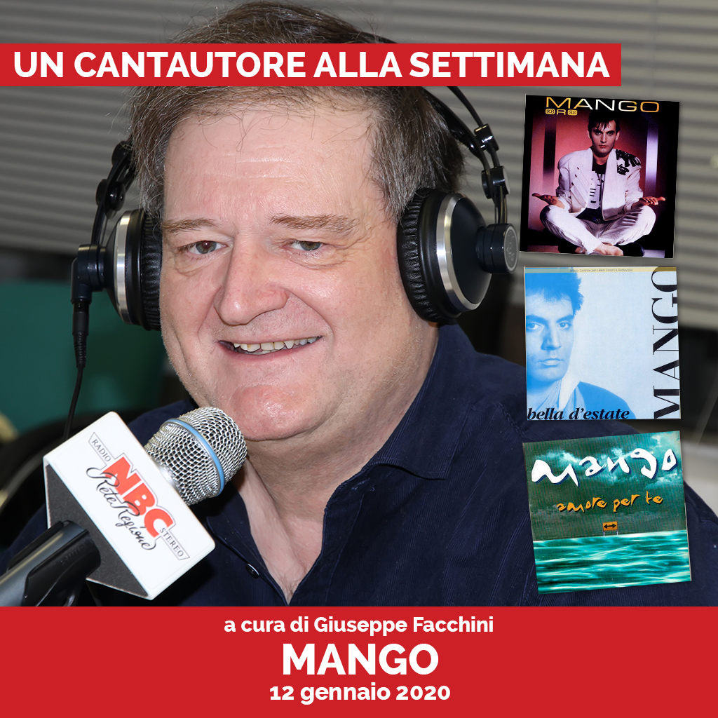 Mango Podcast - Un Cantautore Alla Settimana