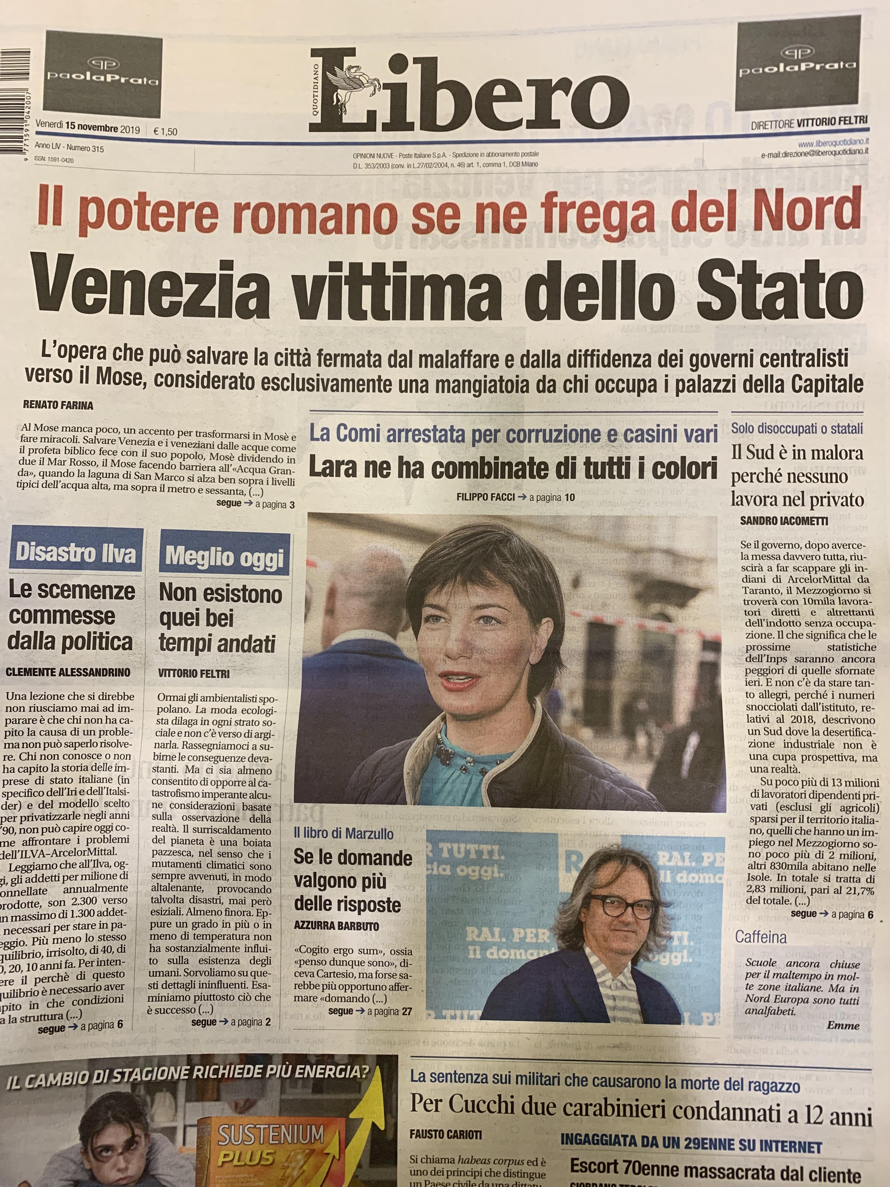 Il potere romano se ne frega del Nord