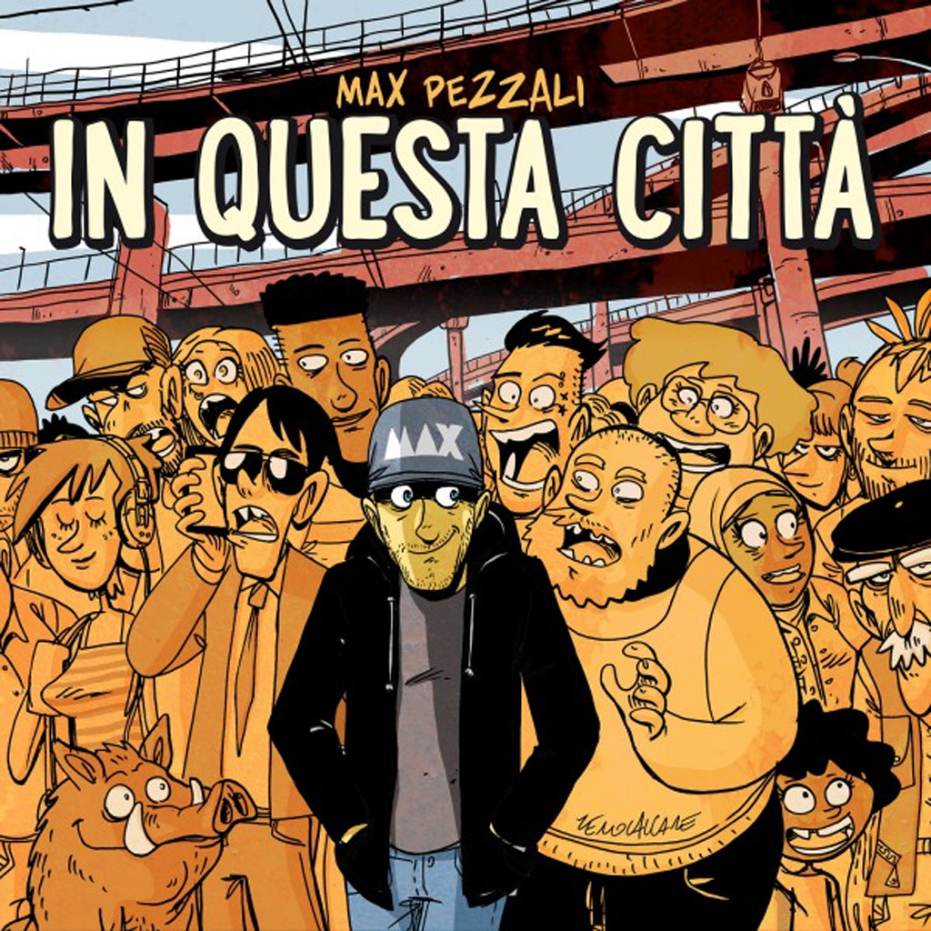 Max Pezzali In questa citta cover