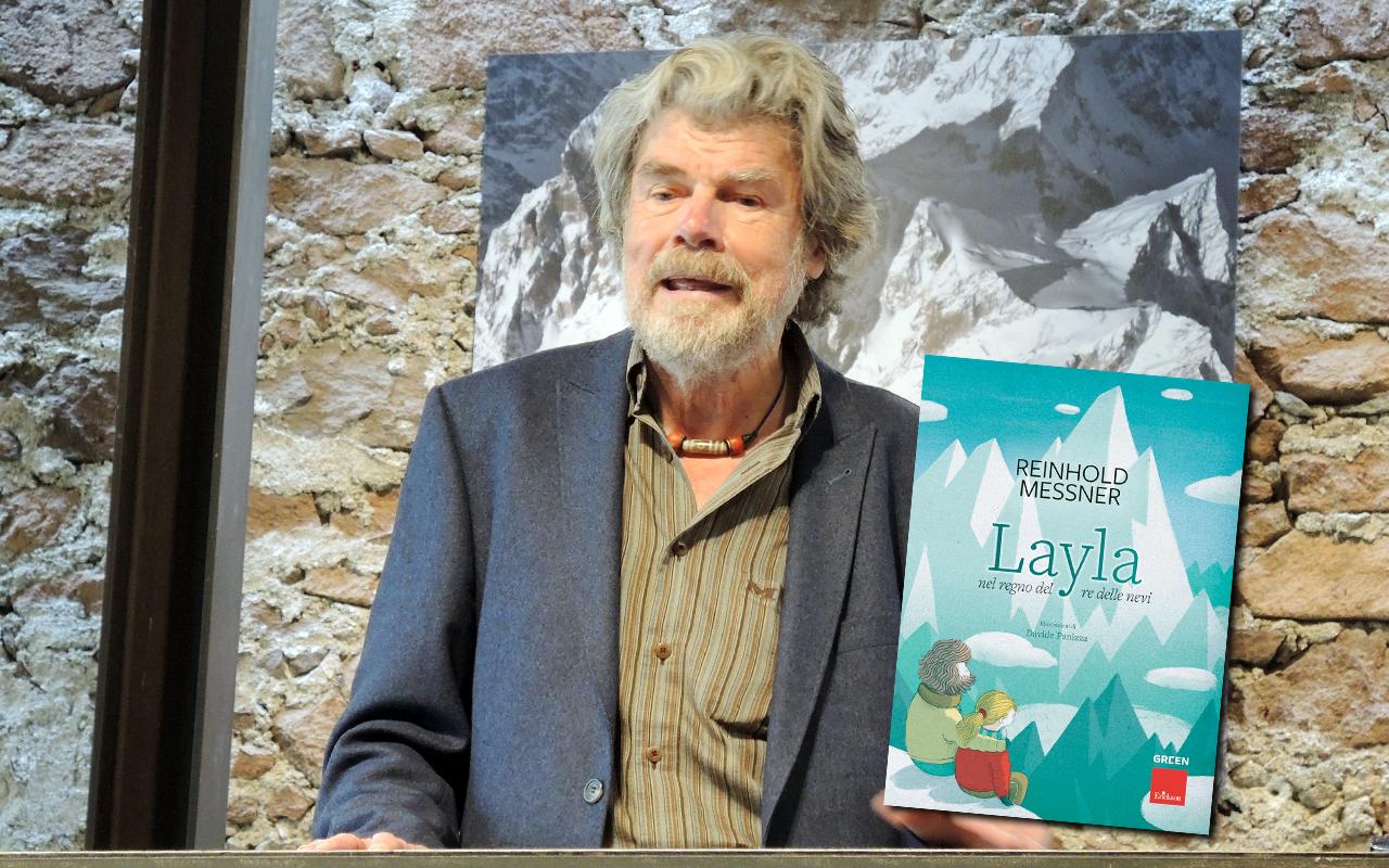 Messner Layla copertina