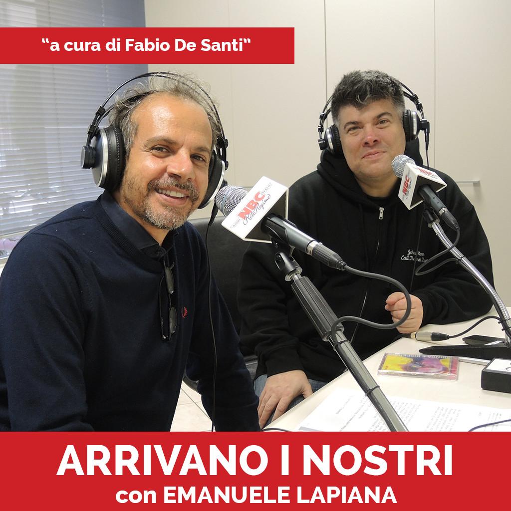 Podcast Arrivano i nostri Emanuele Lapiana