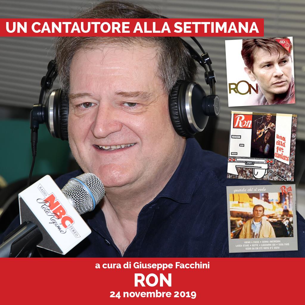 Ron Podcast - Un Cantautore Alla Settimana