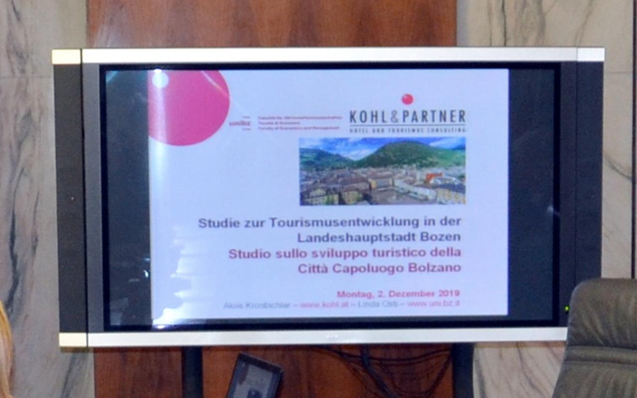 studio sviluppo turistico bolzano