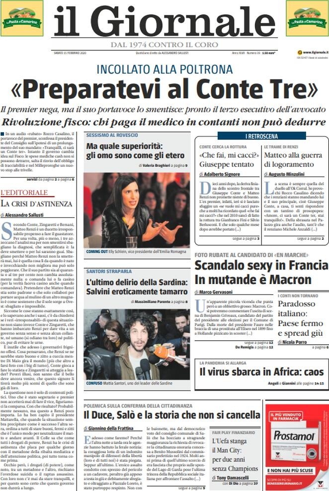 GIORNALE 15.02.2020
