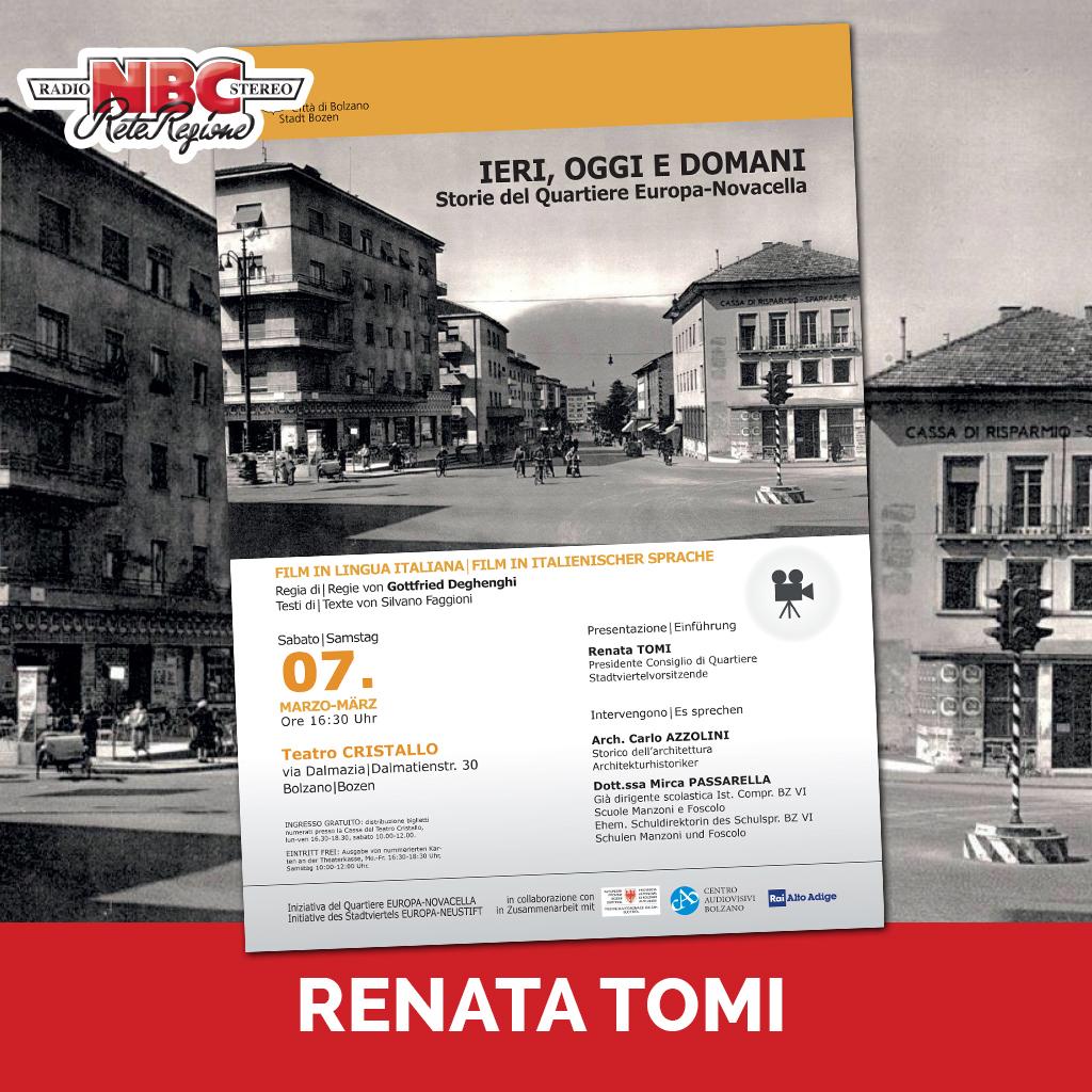 Renata Tomi Podcast - Ospiti