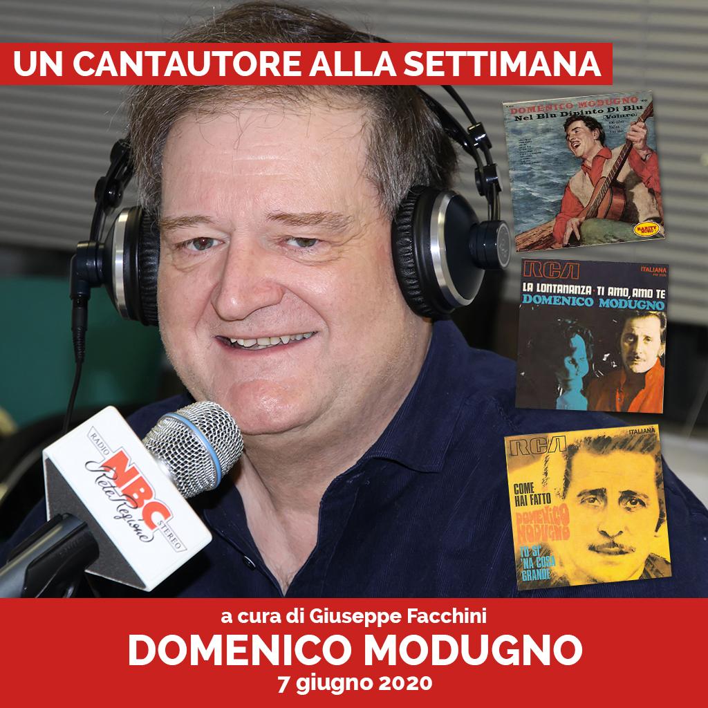 Domenico Modugno Podcast - Un Cantautore Alla Settimana