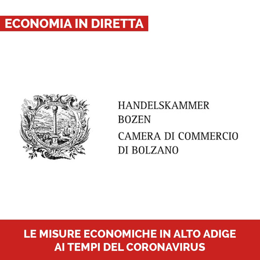 LE MISURE ECONOMICHE IN ALTO ADIGE AI TEMPI DEL CORONAVIRUS Podcast - Economia in diretta
