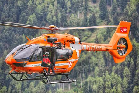 Interventi dell'elicottero di soccorso pelikan 1 della croce bianca