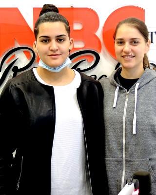 20201104 Basket Club Bolzano Stefania Carcaterra Meriem Nasraoui 2